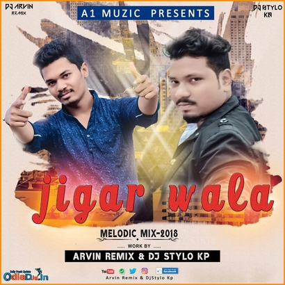 Jigar Wala - Melodic Mix - A1 MUSIC COMPANY - Official Cover