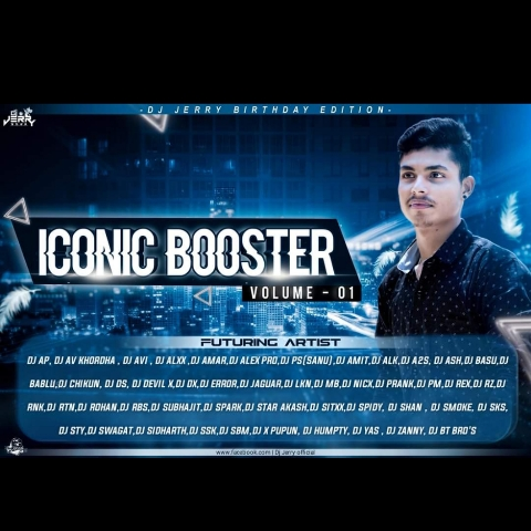 ICONIC BOOSTER VOL.01 (2020) DJ JERRY