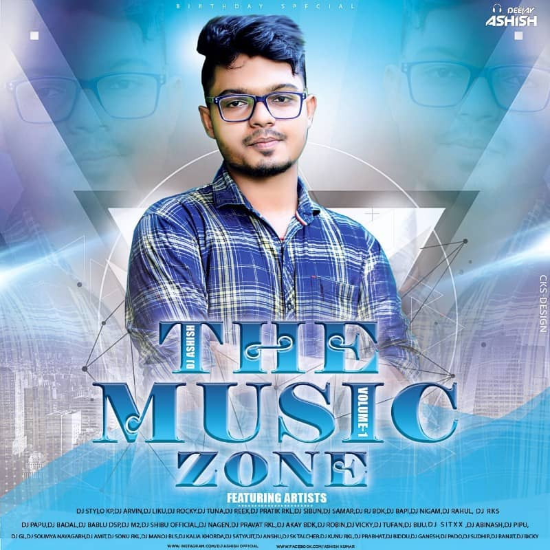 The Music Zone Volume.01 (2021) Dj Ashish